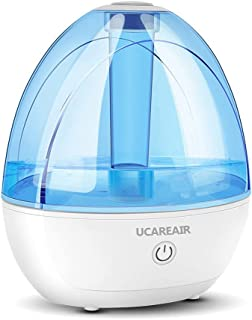 UCAREAIR Humidifiers, Auto Shut Off Humidifiers for Bedroom, 360°Rotating Nozzle Cool Mist Humidifiers, Air Humidifier for...
