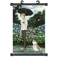 アニメの巻物ポスターゼロから始める異世界生活レムラム家の装飾壁アート 19.7x29.5inch/50x75cm