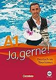 Ja, gerne! A1 (Incluye CD): Alemán en el turismo. Libro de curso (Cornelsen)