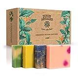 Best Handmade Soaps - Handmade Natural Soap for Women  4 Pack of Review