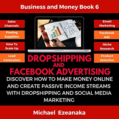 Couverture de Dropshipping and Facebook Advertising