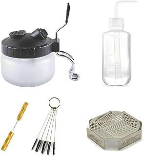 Abestair Lot de 5supports multifonctionnel de brosse d'aérographe pour le nettoyage de verres, de pots de pei...