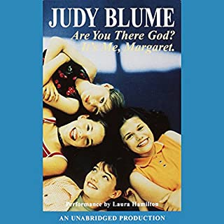 Are You There God? It's Me, Margaret                   By:                                                                                                                                 Judy Blume                               Narrated by:                                                                                                                                 Laura Hamilton                      Length: 3 hrs and 9 mins     417 ratings     Overall 4.5