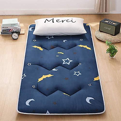 Cotton Traditional Tatami Mattress Japanese Floor Mattress Roll-up Sleeping Pad Foldable Mattress Pad Boys Girls Kids Bedroom Floor Mat K 90×200cm(35.4×78inch)