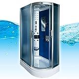 AcquaVapore DTP8060-7210R Dusche Duschtempel Komplett Duschkabine 80x120, EasyClean Versiegelung der Scheiben:2K Scheiben Versiegelung +89.-EUR