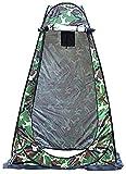 TOMMY LAMBERT Tienda de ducha plegable portátil plegable para acampar al aire libre, senderismo, playa, ducha, privacidad, inodoro, cambiador, refugio