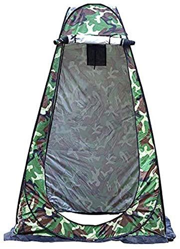 TOMMY LAMBERT Tienda de ducha plegable portátil plegable para acampar al aire libre, senderismo,...