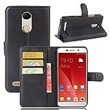 tinyue® Coque pour ZTE Blade A602, Sac de Portefeuille en Cuir PU Flip Case, Protecteur d'aimant...