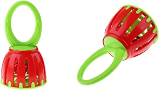 BAOBLADE 2Pcs Hand Bells Baby Toys Baby Rattle Ring Bell Toy Infant Early Education