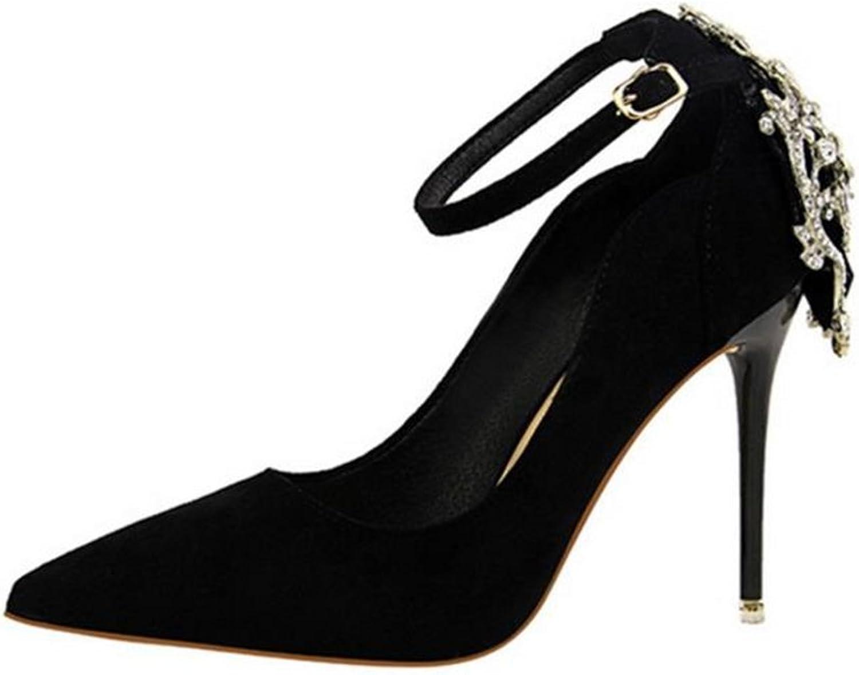 TUYPSHOES Women Peep Toe Rhinestones Pumps High Heel Satin Evening Prom Wedding shoes