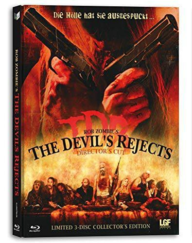 BR+DVD The Devils Rejects - Limited 3-Disc Collectors Edition Mediabook (Cover A)