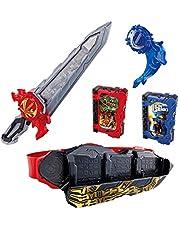 假面騎士Saber 變身腰帶 DX圣劍劍劍萊伯&水勢劍流徽章&獅子戰記一達騎士書