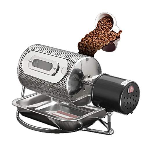 GMZS 220V Elektrischer Kaffeeröster, Haushalt Coffee Bean Machine, Brat- und Roasting Werkzeugmaschine, Haushaltsgetreidetrocknung und Nuss-Röstmaschine