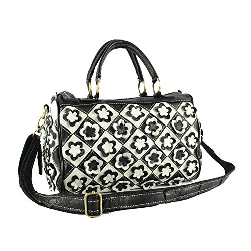 Plover Damen Echtleder Handtaschen Schultertaschen Umhängetaschen Reise Gepäck und Taschen