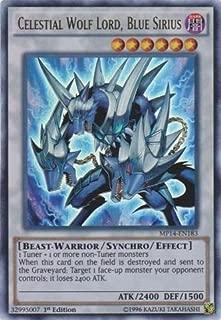 Yu-Gi-Oh! - Celestial Wolf Lord, Blue Sirius (MP14-EN183) - Mega Pack 2014 - 1st Edition - Ultra Rare