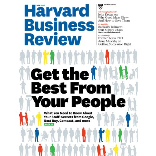 Harvard Business Review, October 2010 cover art