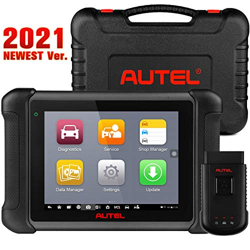 Autel MS906BT MaxiSys Automotive Scan Tool, 2021 Newest Diagnostic Scanner Upgraded Ver. of MS906, with Advanced ECU Coding, Full Bi-Directional Control, 31 Services & OE-Level All Systems Diagnosis