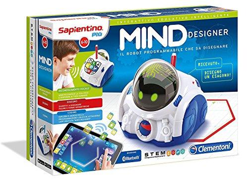 Mind Designer robot educativo intelligente, 7+ anni Clementoni