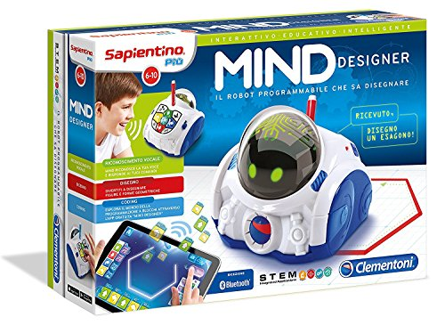 Clementoni 12087 - Mind Designer Robot Educativo Intelligente, 7+ anni