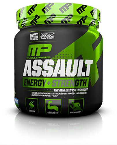 Assault Pre-Workout 30 servings Lampone blu - 51h gBYXG5L