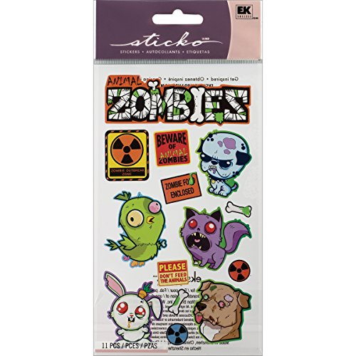 Sticko Stickers, Animal Zombies