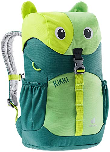 deuter Unisex Kinder Kikki Kinderrucksack, Avocado-alpinegreen, 8 L