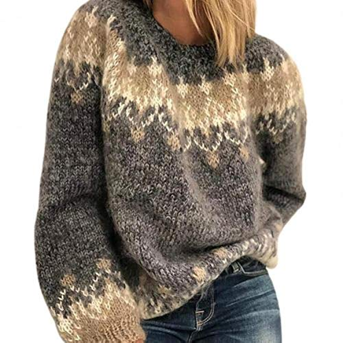GOOD Sweater Ladies Top Women Pullovers Autumn Winter Long Sleeve O Neck Knitted Sweater Jumper Warm Pullover Women's Clothing 2021