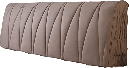 Headboard Slipcover Queen Bed Protector Stretch Dustproof for Twin Full California King Size Beds All-Inclusive Thicken Qu...