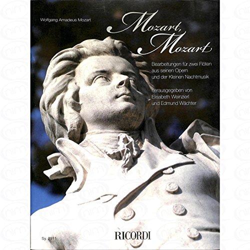 MOZART MOZART - arrangiert für zwei Querflöten [Noten/Sheetmusic] Komponist : MOZART WOLFGANG AMADEUS