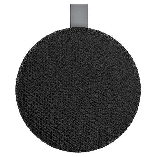 Aduro Wireless Portable Bluetooth Speaker, IPX4 Water Resistant Compact Indoor/Outdoor Speaker with Built-in-Mic (Black/Grey)