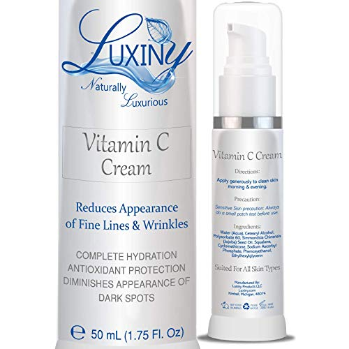 Vitamin C Moisturizer for Face & Neck, Anti Wrinkle Face Cream for Women Anti-Aging Lotion with...