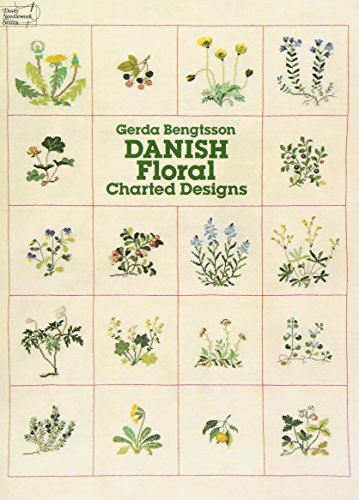 Danish Floral Charted Designs (Dover Embroidery, Needlepoint)の詳細を見る