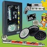 4-teiliges Stylisches Feuerzeug-Set Smoker Raucher Set