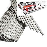 STARK Elettrodi per Saldatura da 3x350 mm/Rutilo Universale per Ferro, Acciaio, Ghisa. Elettrodi a barra per saldatrice. Pacco da 1Kg - ca.35 pz