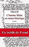 L'homme Moïse - Un roman historique