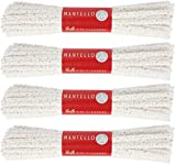 Mantello Hard Bristle Pipe Cleaners, 4 Bundles, 176 Count Steel Wire Great for Masks