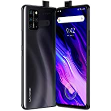 "UMIDIGI S5 Pro Smartphone ohne vertrag Android 10 Handy mit 6GB + 256GB, 6.39"" FHD+ AMOLED Ultra FullView Display, Auto Pop-up Selfie Kamera, KI Quad Kamera, 4680mAh Akuu, NFC, Dual SIM, Schwarz © Amazon"