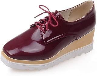 BalaMasa Womens Comfort Platform Mule Casual Urethane Pumps Shoes APL10700