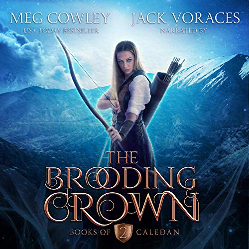 Couverture de The Brooding Crown: An Epic Sword & Sorcery Fantasy