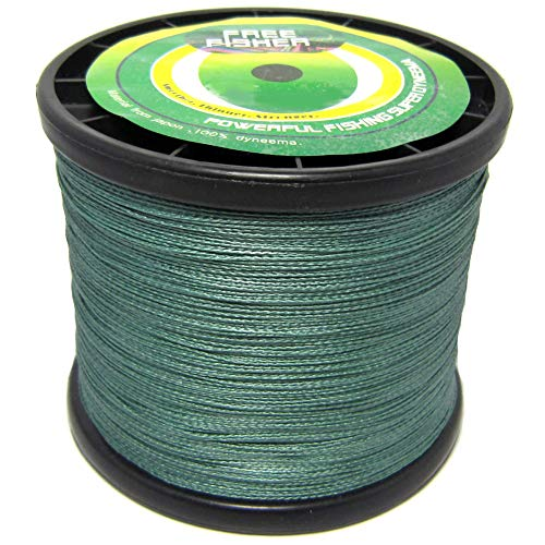 FREE FISHER Braided Fishing Line,4 Strands PE Fishing Wire,Abrasion Resistant Braided...