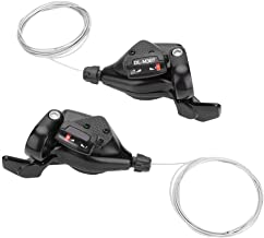 Bike Speed Shift, 1 Pair Triple 3X7/8/9 Bicycle Left/Right Trigger Shifter Derailleur for Bike