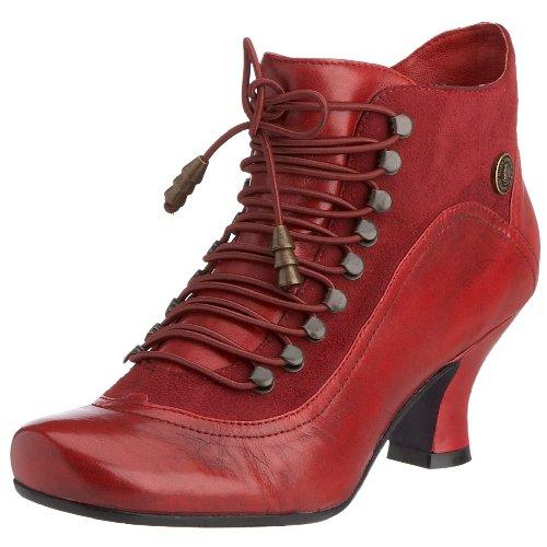 Hush Puppies Vivianna, Damen Kurzschaft Stiefel, Rot, 39 EU