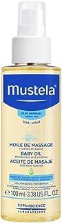 Mustela Baby Oil, Moisturizing Oil for Baby Massage, Natural Avocado Oil, Pomegranate & Sunflower Seed Oil - 100 ml (MUSMU...
