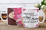 Taza Día de la madre frase positiva