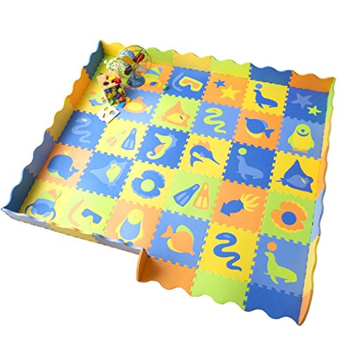 For Sale! Crawling mat Roscloud Baby Children Splice Foam Mat Play Fence Environmental Thicken
