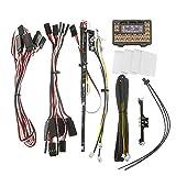 Eve.Ruan HG P402 1/10 1/12 Universal Rc Car Parts WE7021 LED Light Kit + IC Mainboard Set