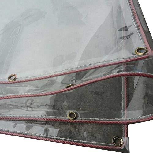 Bâches, Transparente, PVC Chaud Coupe-Vent Imperméable Clair pour Tente, Couvre-Sol 500g / (Taille : 2.3×5m)