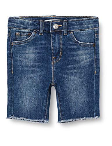 Levi's Kids Lvg High Rise Bike Short Pantalones cortos Niñas Cruise 4 años