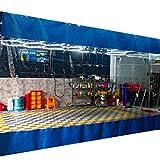 Lona alquitranada Panel Lateral de Carpa de 3/5/6/8/10/11/13 Pies de Ancho,...