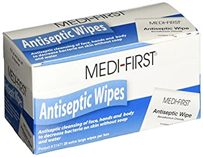 Medique Products 21433 Antiseptic Wipes by Medique Products